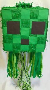 APINATA4U Creepy Cube Pull Strings Pinata Video Game Party Favor