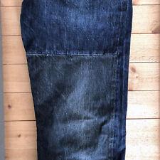 Evisu Japan 31 x 34 Custom Patchwork Jeans 175 / 78A Two-Tone Dark Wash no. 3