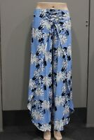 New QUELQUE by FILO Lily Floral Resort Beach Pants Skant  8 10 12 14 16 18
