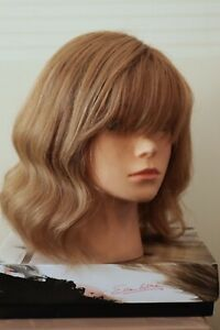 Ellen Wille Stimulate Art Gauguin 100% Human Hair Mid Blonde Wig Mono Lace Front