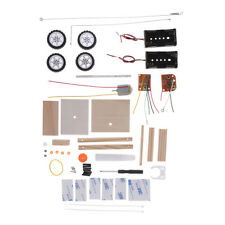 Battery Powered Handmade Car DIY Assembled Model Kit Kids Science Experiment