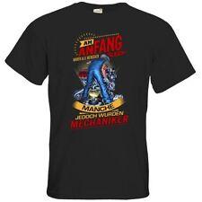 Mechaniker unifarbene Herren-T-Shirts in Größe 4XL