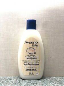 Aveeno Baby Soothing Relief Creamy Wash Fragrance Free 8 oz