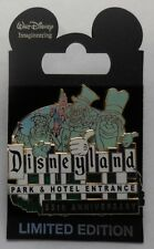 Disney Pin Wdi Disneyland 55e Anniversaire Entrée Signe Auto-Stop Ghosts Le