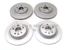 FORD S-MAX 1.8 2.0 2.2 TDCi 2006-2014 FRONT & REAR BRAKE DISCS SET NEW (NO PADS)