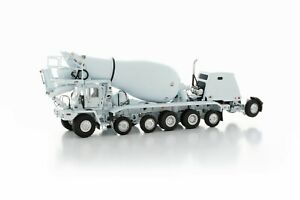 "Oshkosh S-Series Cement Mixer - ""WHITE"" - 1/50 - TWH #075-01063"