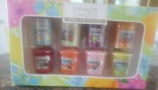 NEW Yankee Candle Boxed Gift Set of 8 x 49g Votives of Assorted Scented Candles