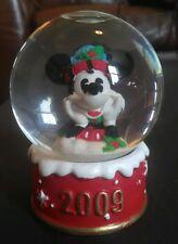 JC Penney Mini Snow Globe Mickey Mouse 2009 Disney Christmas Black Friday