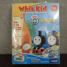 VTECH WHIZ KID LEARNING SYSTEM Thomas The Train  Pre K  ~NEW~