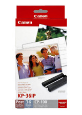 Canon Genuine / Original Ink Cartridge & Paper Pack for Selphy CP-510