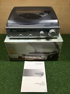 Bush All in one Turntable Hi-fi System RPA1 built in speakers - Record Player