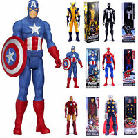 12'' Marvel Avengers Super Hero Action Figure Captain Spider-Man Thor Toys Gifts