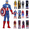 """12"""" Action Figure Marvel Avengers Super Hero Spider-Man Iron Man Thor Toys Gifts"""