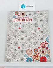 Floral Wonders Adult Coloring Book: Color Art for Everyone - New