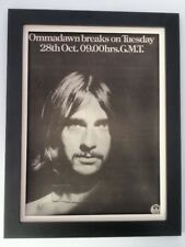 MIKE OLDFIELD*Ommadawn*1975*ORIGINAL*POSTER*AD*FRAMED*FAST WORLD SHIP