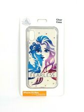 Disney Parks Frozen Elsa Fearless Apple iPhone Xs Max Cellphone Case NEW