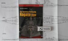 The Japanese Battleship Nagato 1944 - Kagero Topdrawings - English! *N*E*W*
