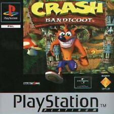 Crash Bandicoot Platinum PS1 Playstation 1 jeux jeu games spelletjes 4712