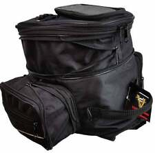 Vance Leather Expandable Magnetic Tank Bag