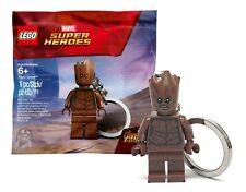 LEGO Teen Groot Keychain - Avengers Infinity War #5005244 Polybag NEW