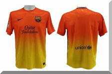 NIKE FC BARCELONA 2012-2013 AWAY SOCCER JERSEY ORANGE/YELLOW  478326 815 SIZE XL