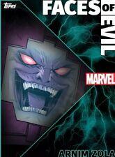 Topps Marvel Collect - Faces Of Evil ARNIM ZOLA (Static) *Digital