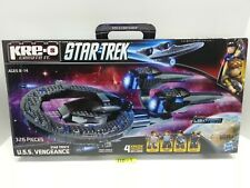 KRE-O Star Trek - U.S.S. VENGEANCE Starship  - BRAND NEW & SEALED - RETIRED Kreo