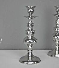 Candelero 26x10cm Candelero Plata Aluminio Lámparas de pie Candelero