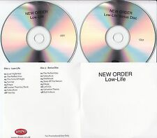 NEW ORDER Low-Life Deluxe Edition 2008 UK remastered 16-track promo test 2-CD