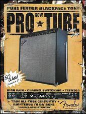 Fender Concert Reverb Pro Tube Series Amp ad 2002 amplifier 8 x 11 advertisment