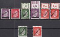 S4176/ AUSTRIA – SOVIET ZONE – MI # 660 / 663 MINT MNH INCL VARIETIES - SIGNED