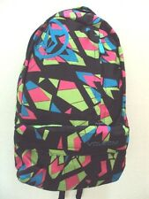 NEW VOLCOM SURF BASIS PRINTED POLYESTER BACKPACK BAG Y262
