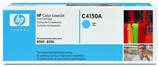 NEW Genuine HP Color LaserJet 8500n 8550n Cyan Toner Cartridge C4150A
