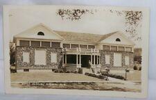 RPPC Postcard Morse Museum Warren NH Most Interesting Man Alive Safari Oddities