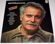 """GEORGES BRASSENS : Nouvelles Chansons 12"""" 33 tours LP vinyl 1976"""