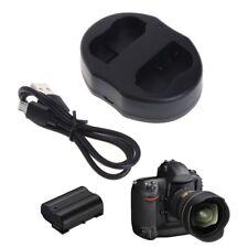 EN-EL15 Dual Battery USB Charger For Nikon D600 D610 D7000 D7100 D800 D810 D750