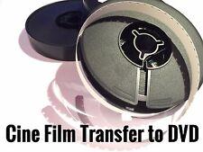 Cine Projector Film to DVD Transfer Service Super 8 STD 8mm Frame by Frame Scan