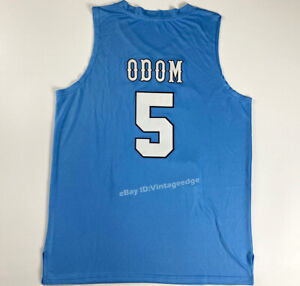 Throwback Lamar Odom #5 Basketball Jerseys Stitched Shirts S-4XL