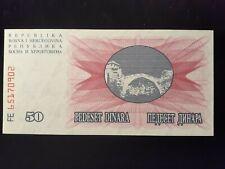 New Listing1982 50 Dinara Bosnia-Herzezovina P 12