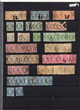 070318)..CERES (36 à 38)+(50 à 60) PAR MULTIPLE DONT NEUFS ...COTE 2230 EUROS