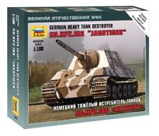 "Zvezda 1/100 sd.kfz.186 ""Jagdtiger"" German Heavy Tank Destroyer # 6206"