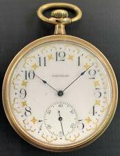 Gold Filled Pocket Watch Antique Waltham 15 Jewels