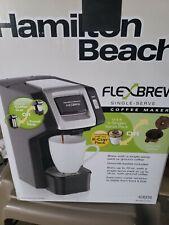 Hamilton beach flexbrew single-serve coffee maker