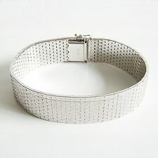 Armband Silber 835er rhodiniert Armreif  Armschmuck edel