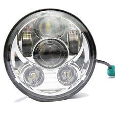 5.75 LED Projector Headlight Daymaker Fr Harley Dyna Super Glide FXDWG/Low Rider
