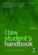 The Law Student's Handbook, Very Good Condition Book, Steve Wilson, Phillip Kenn