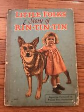 """1927 """"LITTLE FOLKS' STORY OF RIN-TIN-TIN"""" MOVIE BOOK - WARNER BROTHERS DOG STAR"""