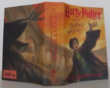 J.K. ROWLING Harry Potter and the Deathly Hallows FIRST EDITION SIGNED BY ILLUS