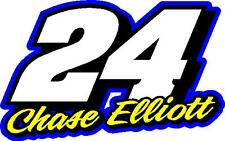 24 Chase Elliott 2017 Nascar decal sticker
