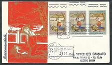 1961 VATICANO FDC NATALE TIMBRO ARRIVO - KV12-2